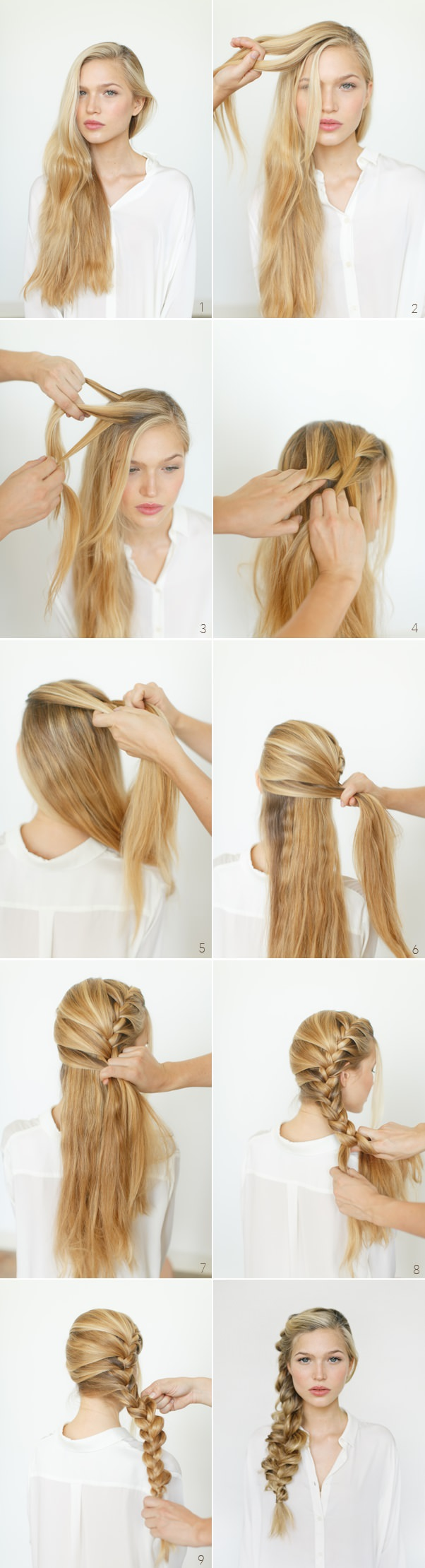 Romantic Loose Side Braid
