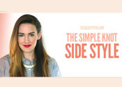 The Simple Knot Side Braid