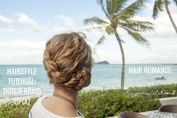 Dutch Braid Summer Hairstyle