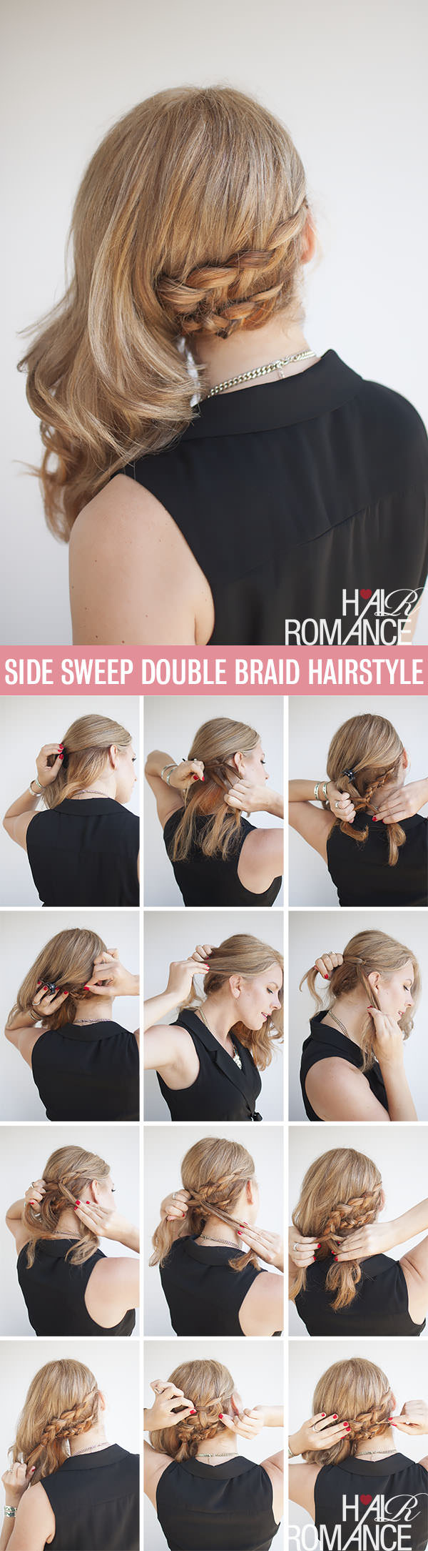Side Sweep Double Braid