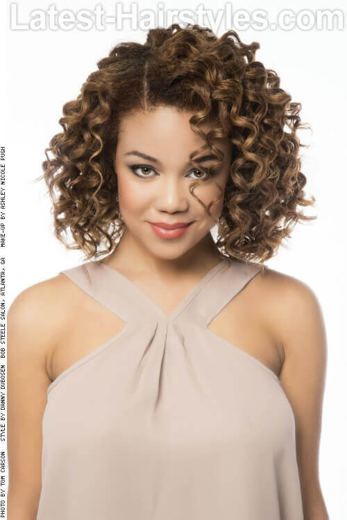 Astonishing 15 Curly Hairstyles For Summer Zest Up Your Look Short Hairstyles Gunalazisus