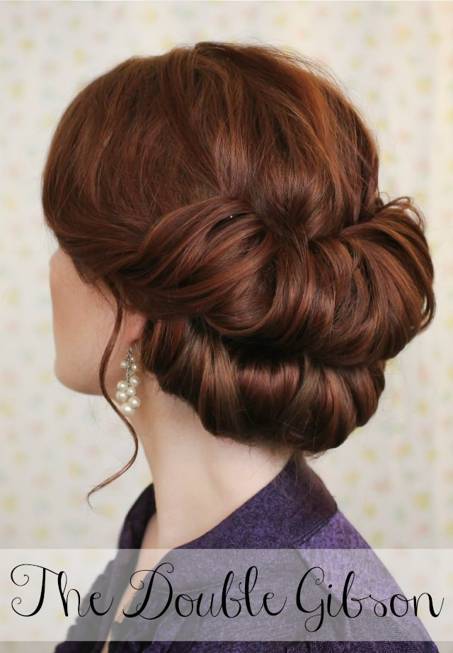 Double Gibson Tucked Hairstyle