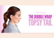 The Double Wrap Topsy Tail Tutorial