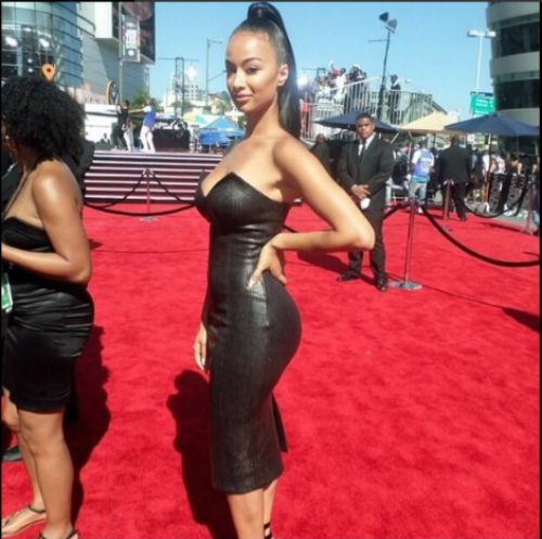 Draya at BET Awards