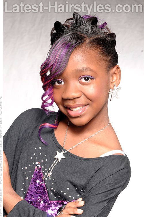 Fine 15 Stinkin39 Cute Black Kid Hairstyles You Can Do At Home Short Hairstyles Gunalazisus