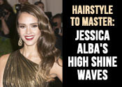 Jessica Alba Hair Tutorial