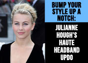 Julianne Hough Updo Tutorial