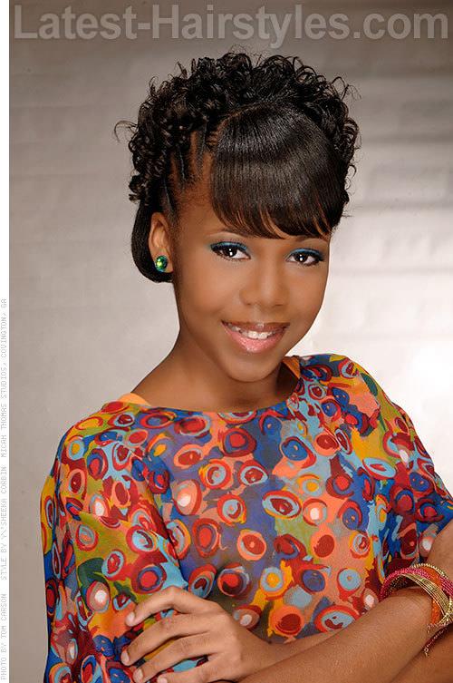 Pleasant 15 Stinkin39 Cute Black Kid Hairstyles You Can Do At Home Short Hairstyles Gunalazisus