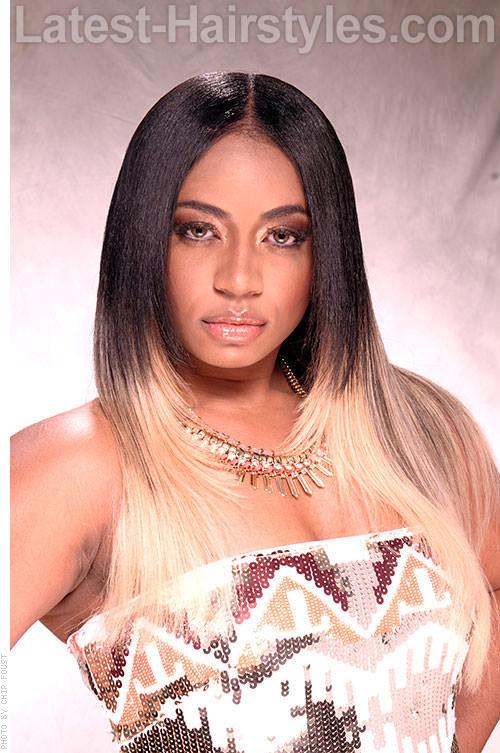 Platinum Blond Beauty Ombre