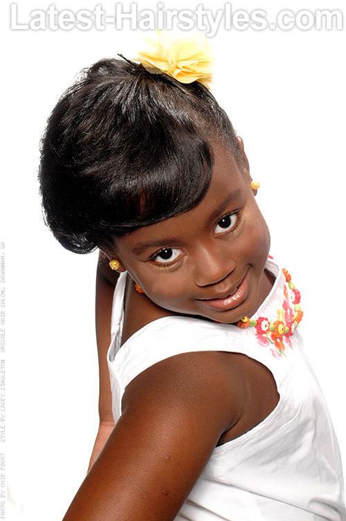 Wondrous 15 Stinkin39 Cute Black Kid Hairstyles You Can Do At Home Short Hairstyles Gunalazisus