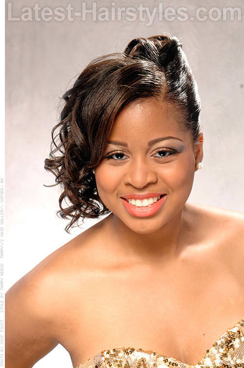Stupendous 7 Wedding Hairstyles For Black Women Saying Quoti Doquot Soon Hairstyle Inspiration Daily Dogsangcom