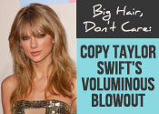Taylor Swift Blowout Tutorial