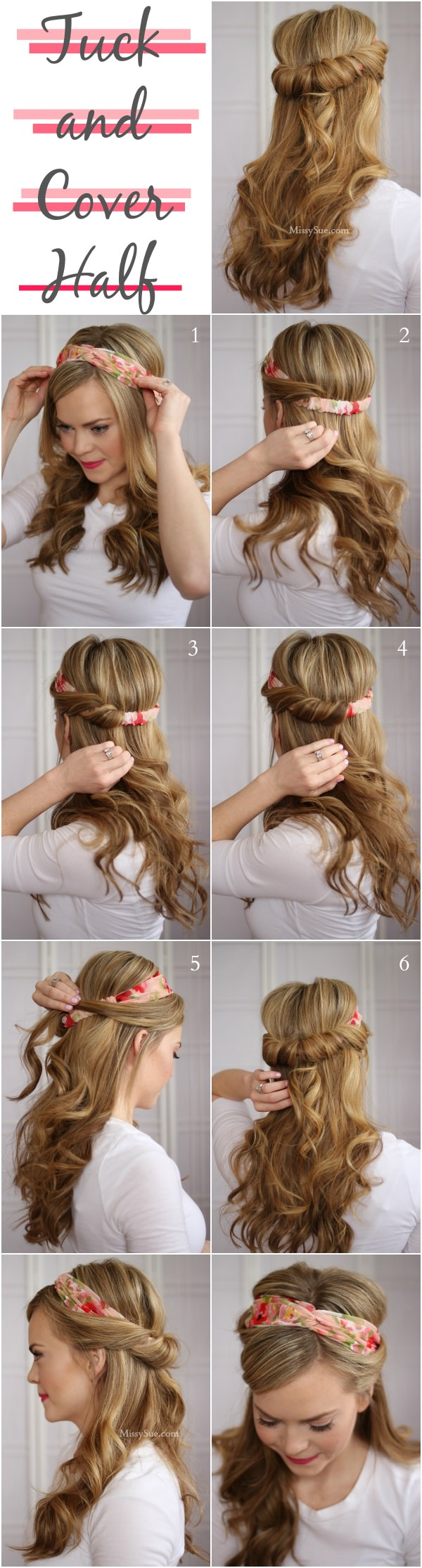 Tucked Hairstyle Tutorial
