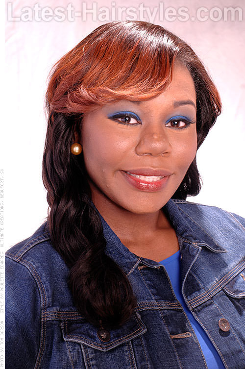 Two Toned Tony Inverted Ombre U-Part Wig