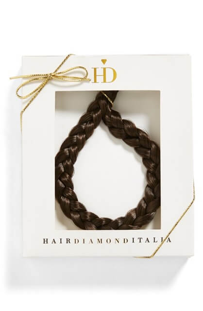 HairDiamond Italia Synthetic Hair Braid Headband