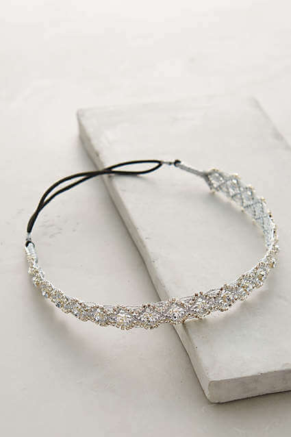 Diamond Glimmered Headband