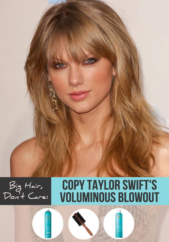 Taylor Swift Hair Blowout Tutorial