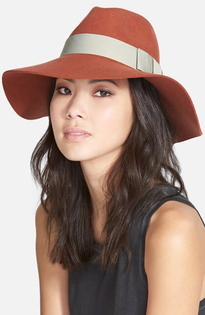 "Brixton ""Piper"" Floppy Wool Hat"