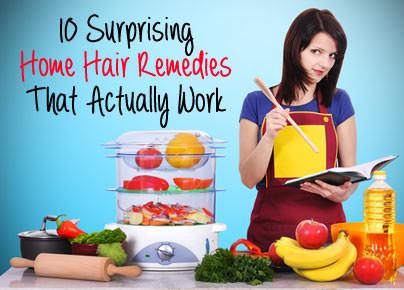 Home Hair Remedies