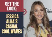 Jessica Alba Casual Waves Tutorial