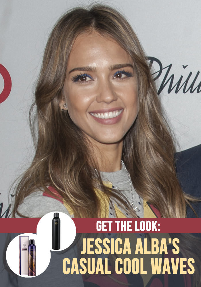 Jessica Alba Hair Tutorial - Casual Cool Waves