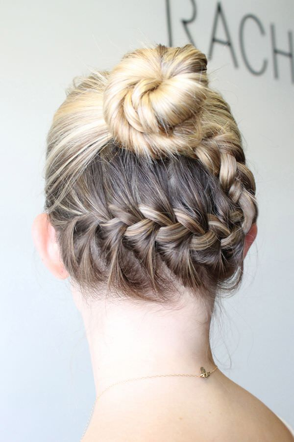 Different Braids - Reverse Braided Bun