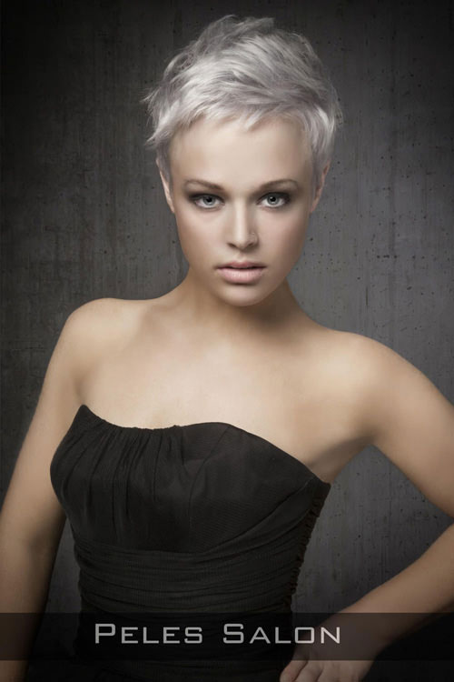 Platinum Blonde Pixie Queen