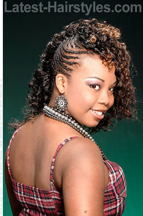 Stupendous 12 New Dazzling Crochet Braid Styles For Black Women Short Hairstyles For Black Women Fulllsitofus