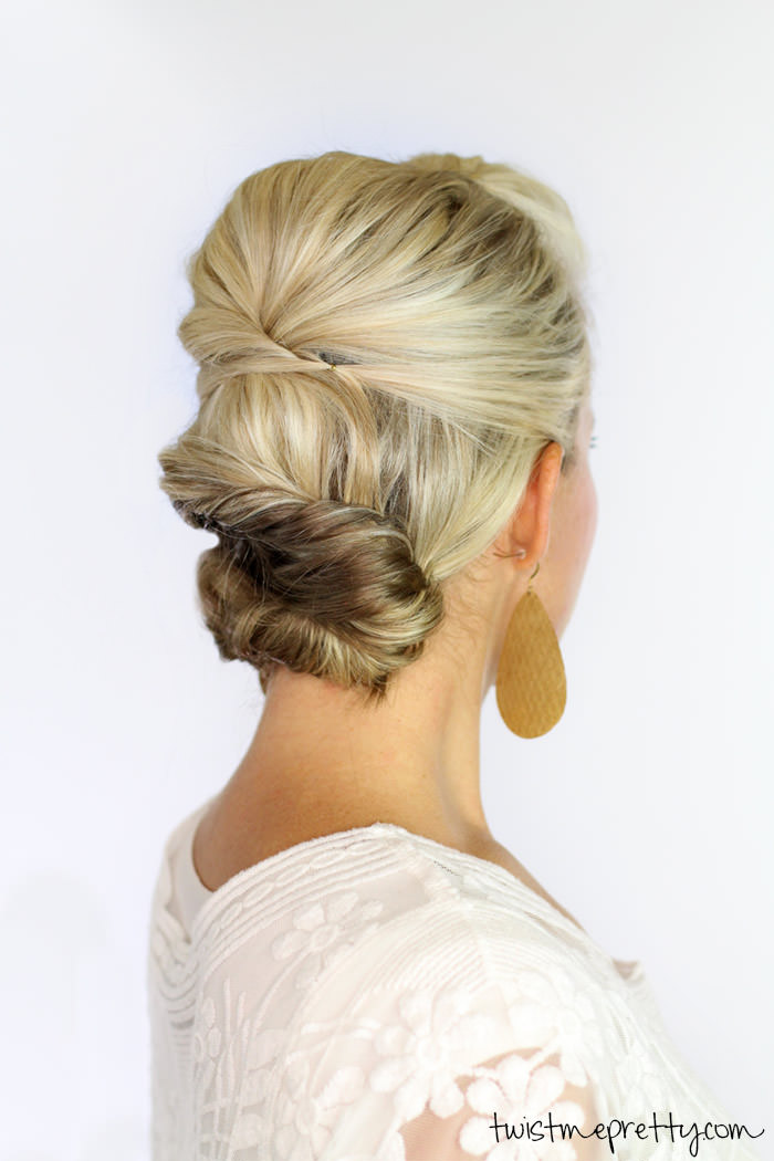 Soft Updo - Hairstyles for Short Hair