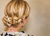 Knotted Updo Tutorial