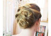 The 3 Minute Woven Updo Tutorial