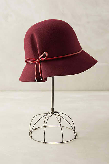 Anthropologie Fluted Cloche