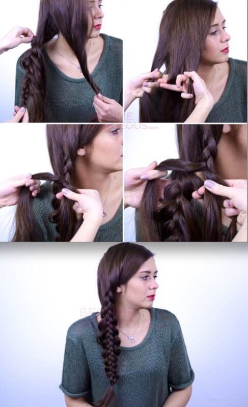 Braid Over Braid Autumn Hairstyle