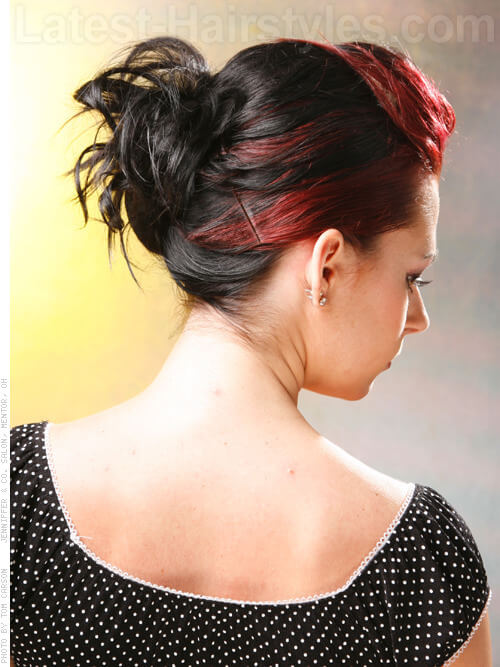 Creative Red Highlights Side