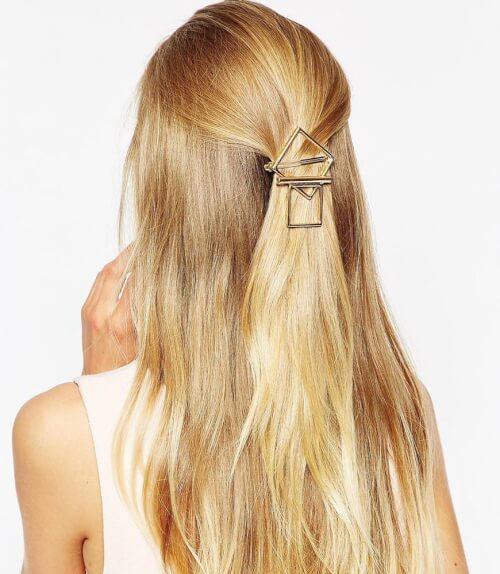 Designsix Geo Shape Clean Hair Clip