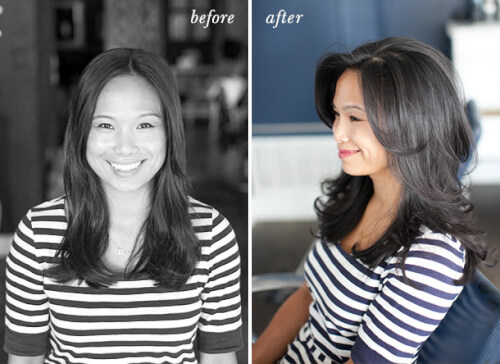 Flat To Full Down Hairstyles