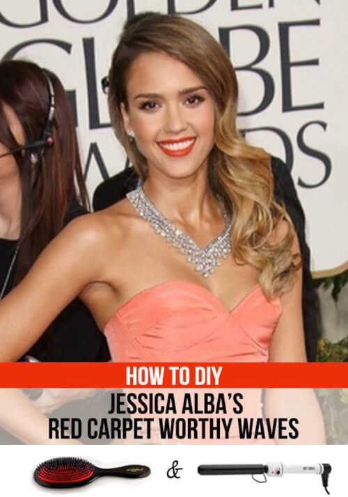 Red Carpet Waves: A Jessica Alba Hair Tutorial