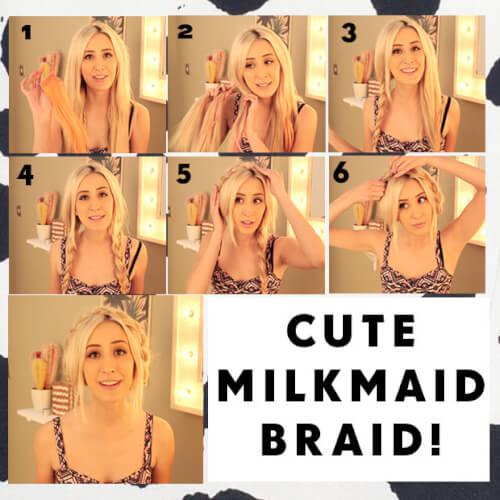 Milkmaid Braided Crown