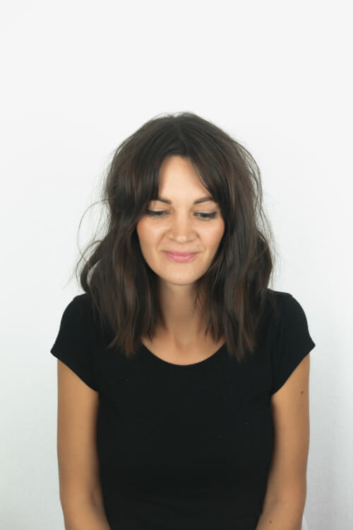 Natural Curls Short Fair Hairstyle