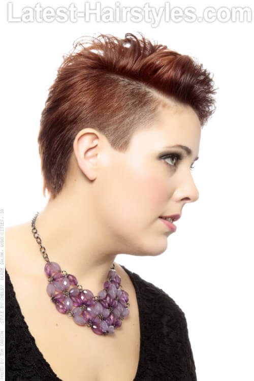 Short Asymmetrical Pixie Side