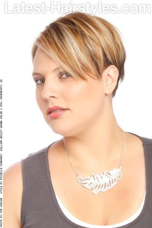 Short Textured Women's Haircut