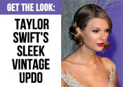Taylor Swift Hair Tutorials - Vintage Updo