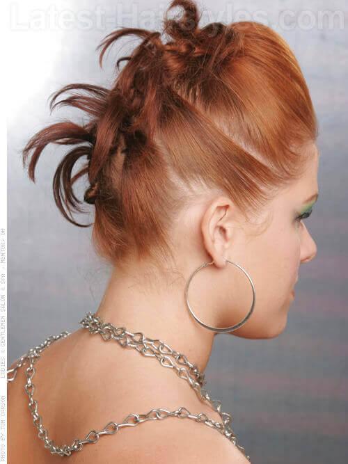 Apricot Haircolor Side