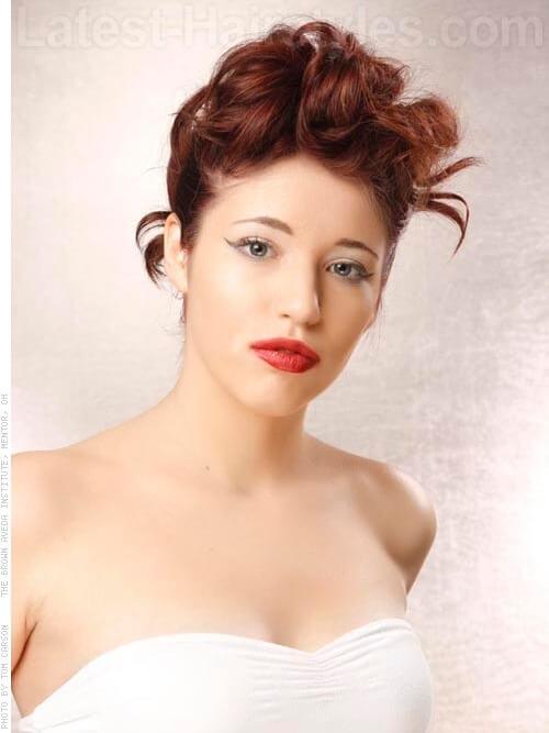 Brown Red Hair Shade
