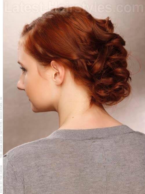 Copper Brown Haircolor Back
