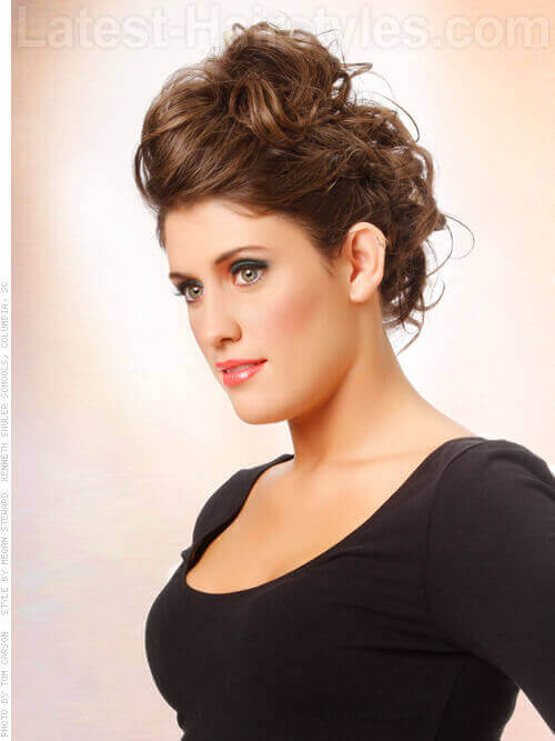 The Sexiest Messy Updos You Ll See All Day