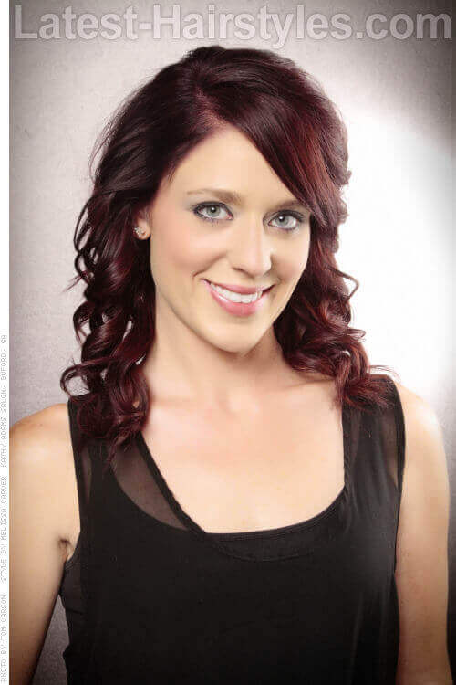 Deep Violet Haircolor