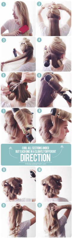 Faux Blowout Stunning Hairstyle