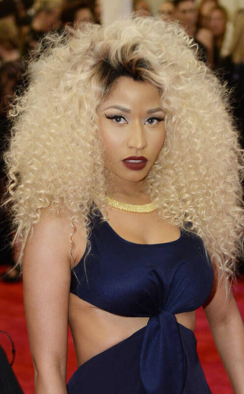 Glam Goddess Nicki Minaj Hair