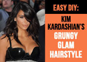 Grunge Goes Glam: A Kim Kardashian Hair Tutorial